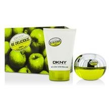 Dkny Be Delicious Coffret: Eau De Parfum Spray 50ml/1.7oz + Body Lotion 100ml/3.4oz 5af2 For Women  (Touch Coffret)