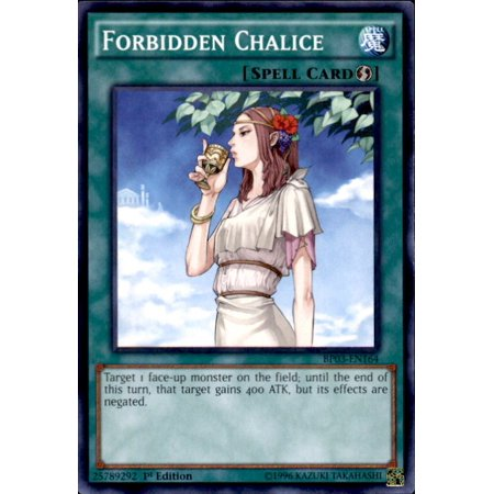 YuGiOh Battle Pack 3 Monster League Forbidden Chalice