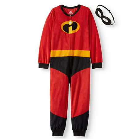 Disney Holiday Family Sleep The Incredibles Family Matching Onesie Pajama (Boys or Girls Unisex) (Boys Holiday Pajamas)