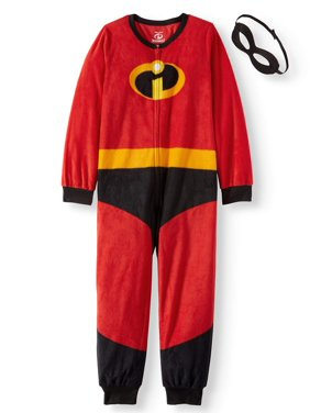 Disney Holiday Family Sleep The Incredibles Family Matching Onesie Pajama (Boys or Girls Unisex)