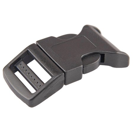 Release Buckle - 1 Inch Economy Contoured Side Release Plastic Buckles