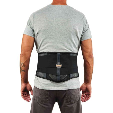 Ergodyne ProFlex® 1051 Mesh Back Support Brace, Black, 2XL