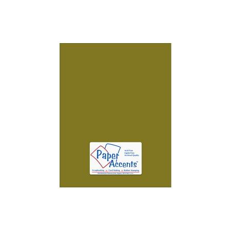 Cdstk Muslin 8.5x11 74lb Olive Drab