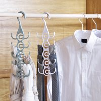 Fugacal Clothing Hanger Rack Closet Organizer for Ties Belts,Tie Hanger, Clothing Rack