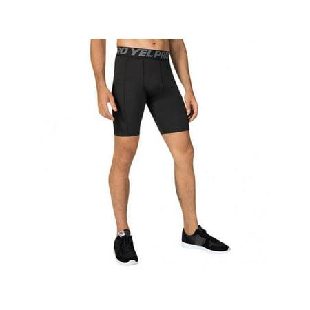 Maraso Men Fitness Running Training Stretch Tights Shorts