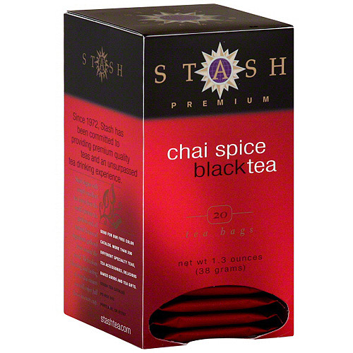Stash Tea Premium Chai Spice Tea, 20ct (Pack of 6)