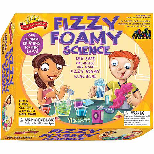 Poof-Slinky Scientific Explorers Fizzy Foamy Science Kit