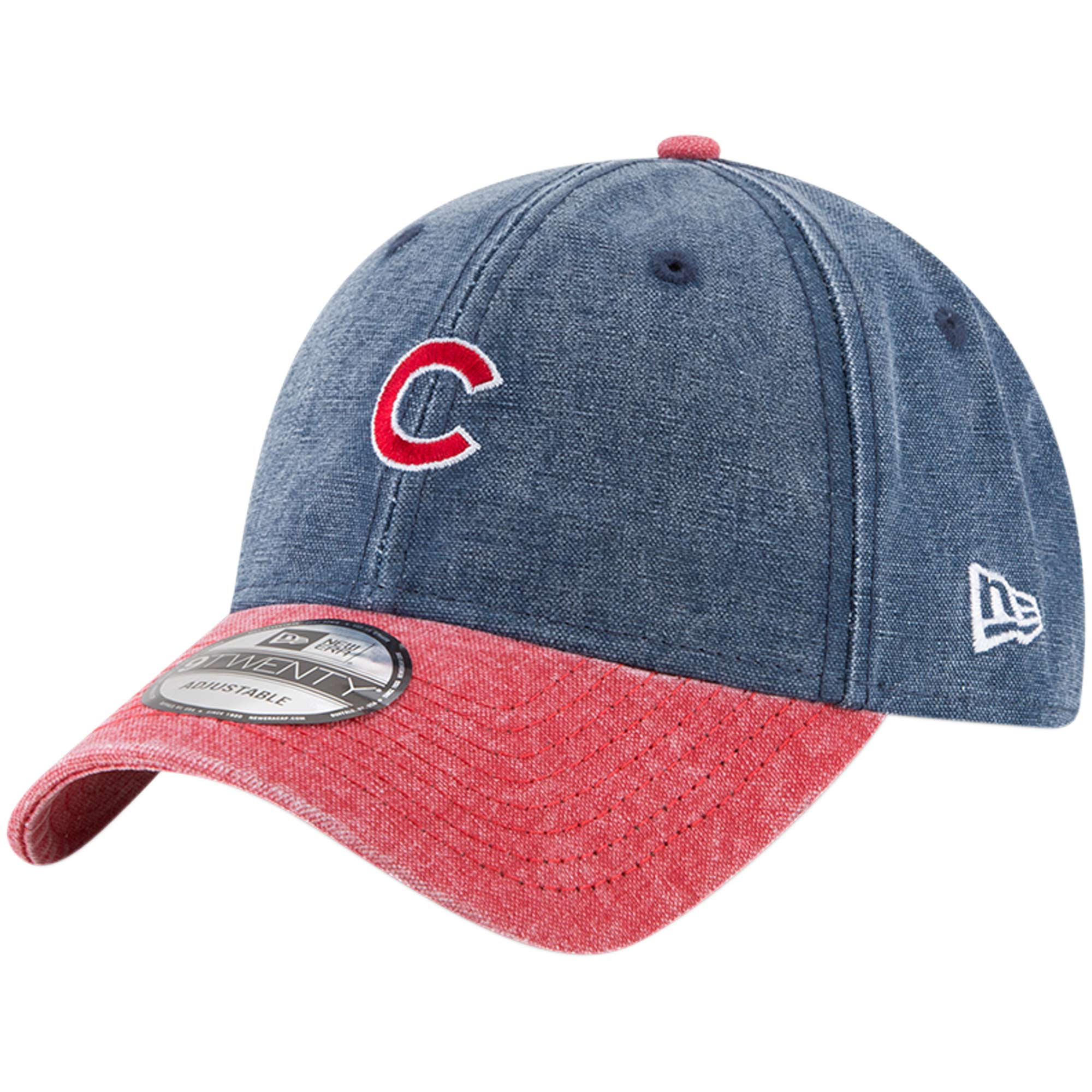 Chicago Cubs New Era Rugged 9TWENTY Adjustable Hat - Royal - OSFA