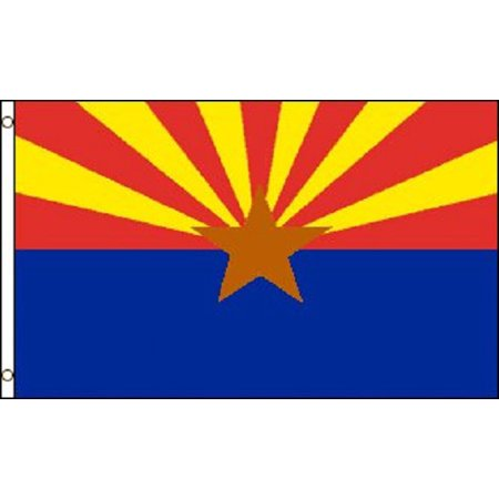 Arizona Flag 3x5 State Banner AZ Pennant New Indoor Outdoor