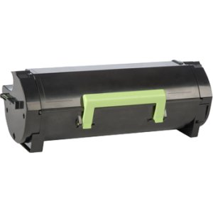 Lexmark 501G - black - original - toner cartridge - LRP government GSA