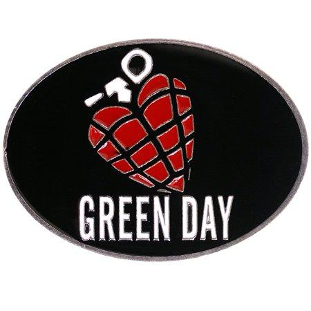 Green Day - Grenade Belt Buckle ()