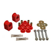 Energy Suspension 99-04 Ford F-250 4WD Red 30mm Rear Sway Bar Bushing Set