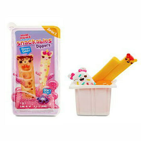 Num noms Snackables Dippers with Scented Slime series 1-1