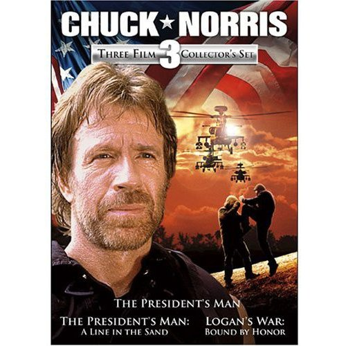 Chuck Norris: Three Film Collector's Set The President's Man   The President's Man: A Line In The Sand  ... by ECHO BRIDGE ENT