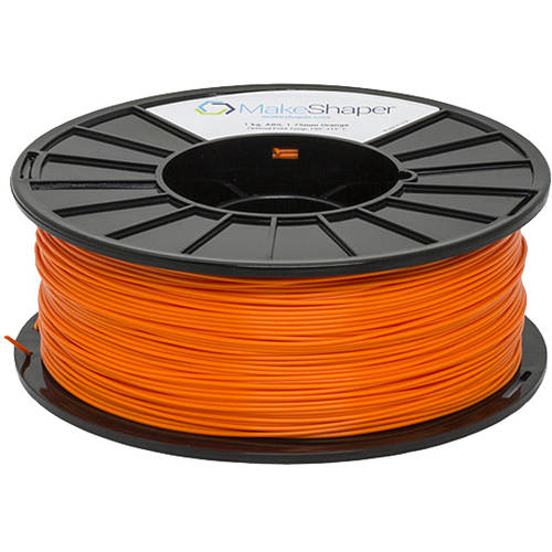 MakeShaper Orange ABS 3.0mm Filament (1Kg)