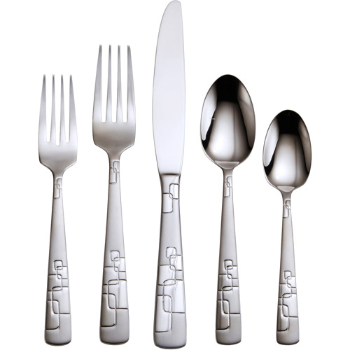 Oneida Quadratic 20-Piece Flatware Set