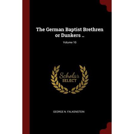 what is a german baptist