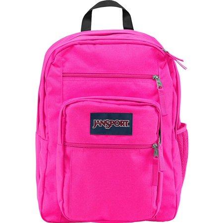 JS00TDN70R4: Big Student Ultra Pink Unisex (Jansport Big Student Black And White Doodle)