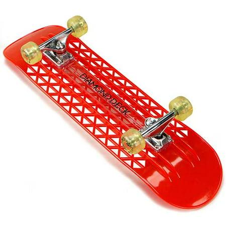 Diamond Deck Lexan Skateboard - Walmart com