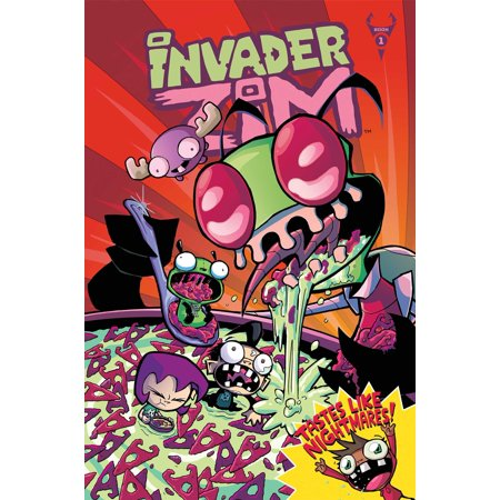 Invader ZIM Vol. 1 : Deluxe Edition Invader Zim Human Disguise