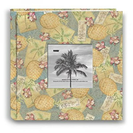Photo Album Palm Tree (Pioneer Photo Albums 200-Pocket Palm Trees Design Fabric Frame Cover Photo Album for 4 by 6-Inch)