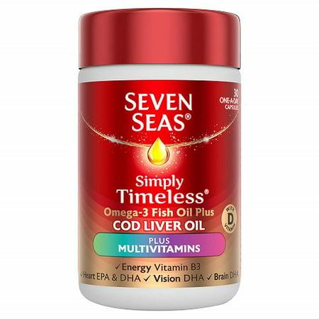 Seven Seas Cod Liver Oil And Multi Vitamins 30 Capsules