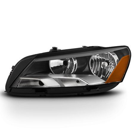 Fit [Halogen Type] 2012-2015 VW Volkswagen Passat Driver Left Side Headlights