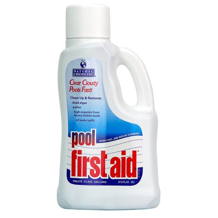 2 Pack-Natural Chemistry Pool First Aid 03122 Swimming Pool Chemical-2 Liters