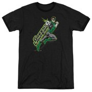 Green Lantern Among The Stars Mens Adult Heather Ringer Shirt