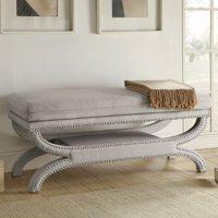 Coaster 500004 Home Furnishings Bench, White