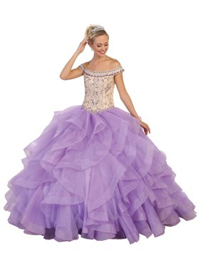 a6e68653a0e Product Image BEAUTIFUL SWEET 16   QUINCEANERA BALL GOWN
