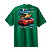 Ford Mustang Boss 302 Youth T-shirt Legend Lives Design-lightgray-yl