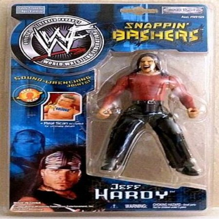 Jeff Hardy Wwf Snappin Bashers With Sound Wrenching Joints By Jakks Pacific