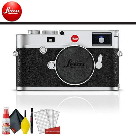 Leica M10 Digital Rangefinder Camera (Silver) Base Accessory Kit