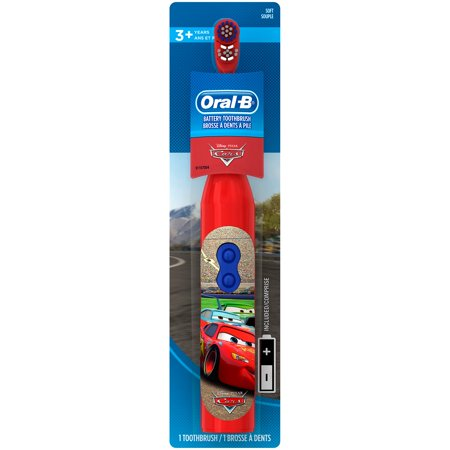 Oral-B Kids Battery Powered Electric Toothbrush Featuring Disney and Pixar
