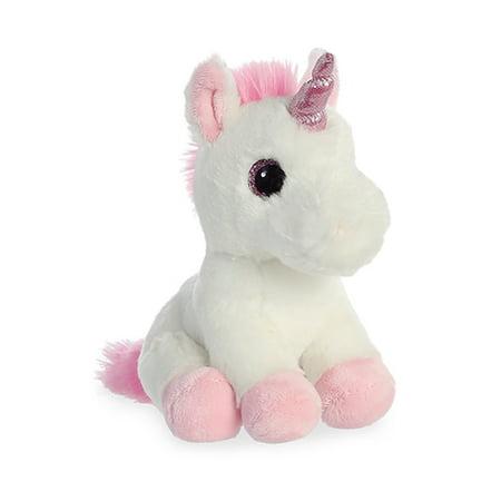 "Aurora - Sparkle Tales - Pink Unicorn - 8"""