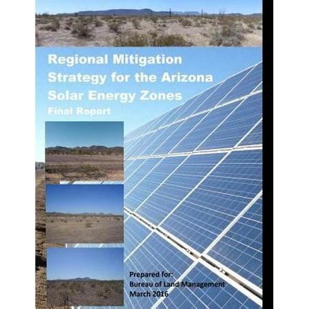 Regional Mitigation Strategy For The Arizona Solar Energy Zones