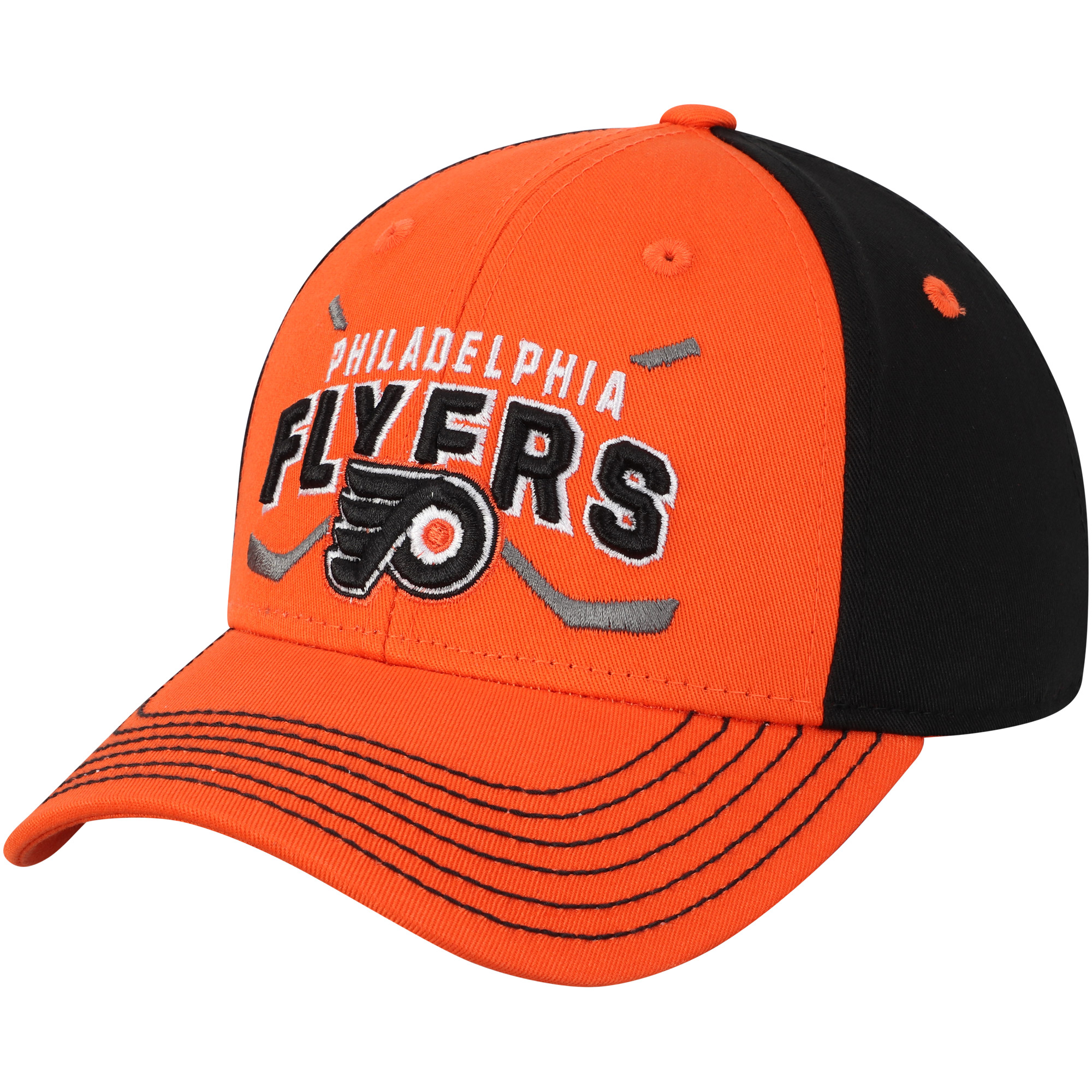 Philadelphia Flyers Youth Faceoff Adjustable Hat - Orange - OSFA