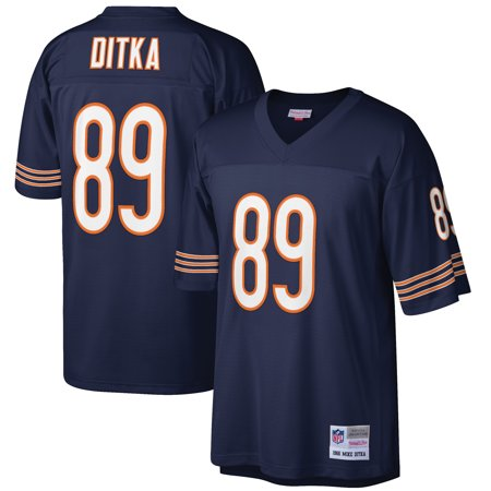 Mike Ditka Chicago Bears Mitchell & Ness Retired Player Legacy Replica Jersey - Navy