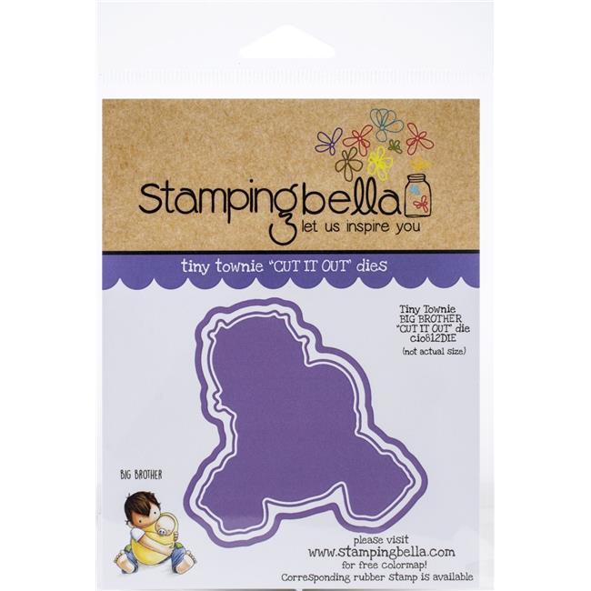 Stamping Bella Cut It Out Dies Tiny Townie Big Brother 666307998121