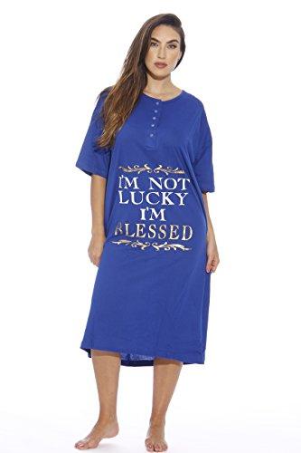 Just Love Womens Nightgown Sleep Dress