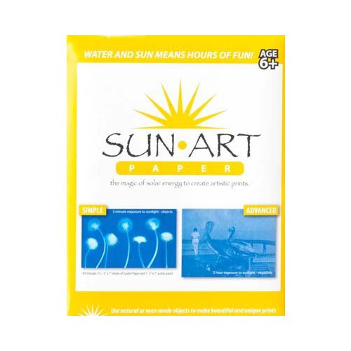 "Sun Art Paper - 15 Sheets of 5"" X 7"" Paper Multi-Colored"