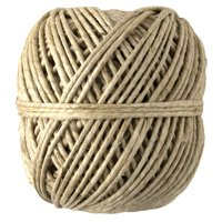 Cousin DIY Polished Thick Hemp Cord Twine, 64.5 yd, Natural