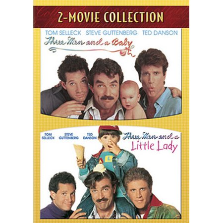 Three Men & A Baby / Three Men & A Little Lady (DVD) - Baby Halloween Movies