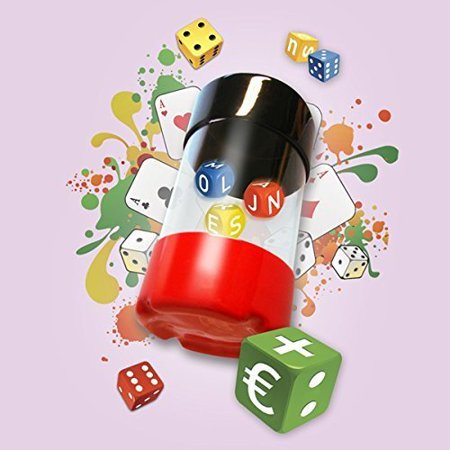 Dancing Dice Shaker Med Game, No More Sending Dice Skittering Across The Board Or Off The Table! By Continuum Games from USA
