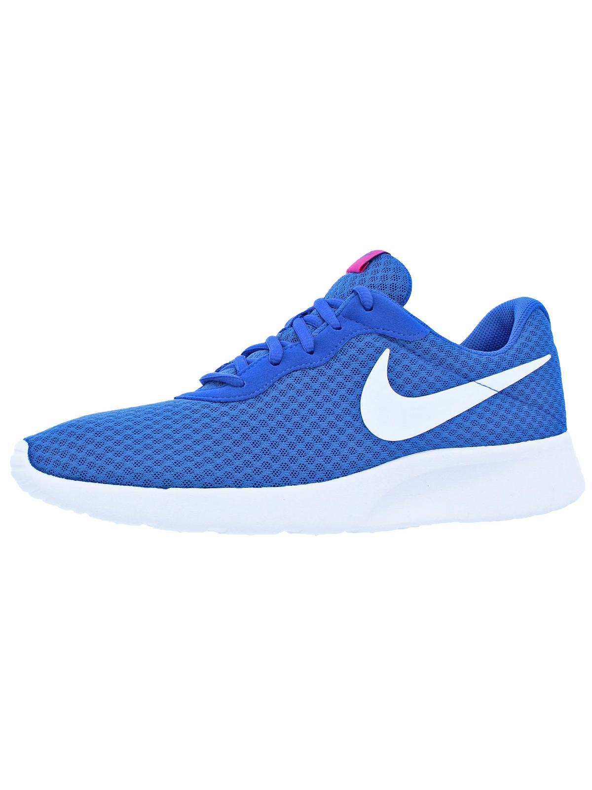 White-Chlorine Blue Ankle-High Running