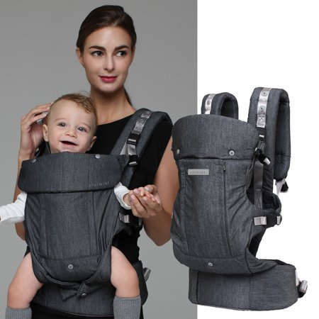 CLARMIEL ONE TOUCH LIGHTWEIGHT BABY CARRIER (Front Facing Baby Carriers)