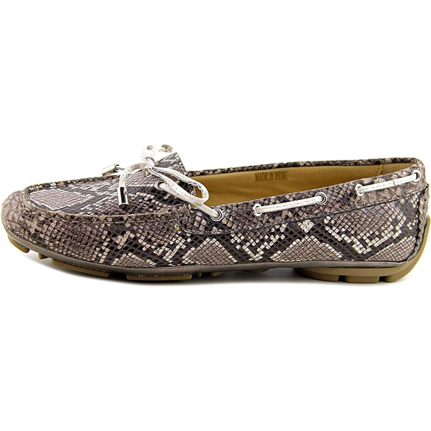 Geox Womens Clelia Square Toe Loafers