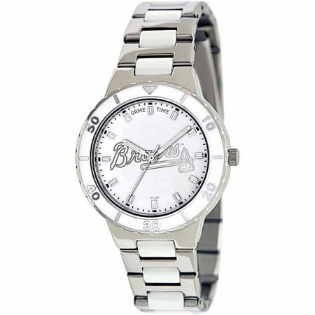 Game Time MLB Women's Atlanta Braves Pearl Series Watch