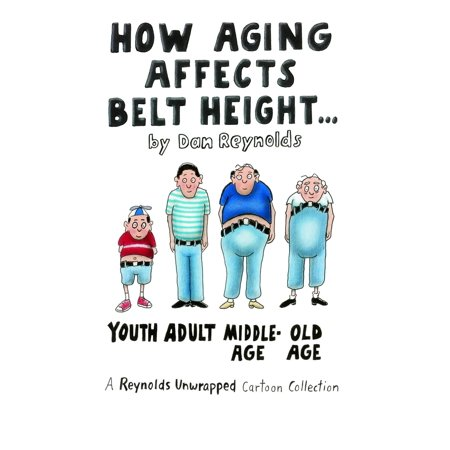 How Aging Affects Belt Height : A Reynolds Unwrapped Cartoon Collection